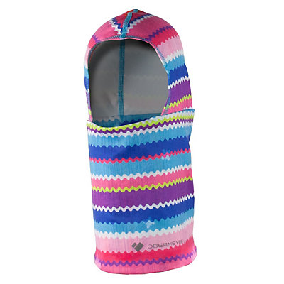 Obermeyer Powder Toddler Balaclava, Scribble Stripe, viewer
