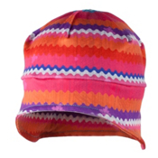 Obermeyer Jib Teen Skull Cap, Scribble Stripe, medium