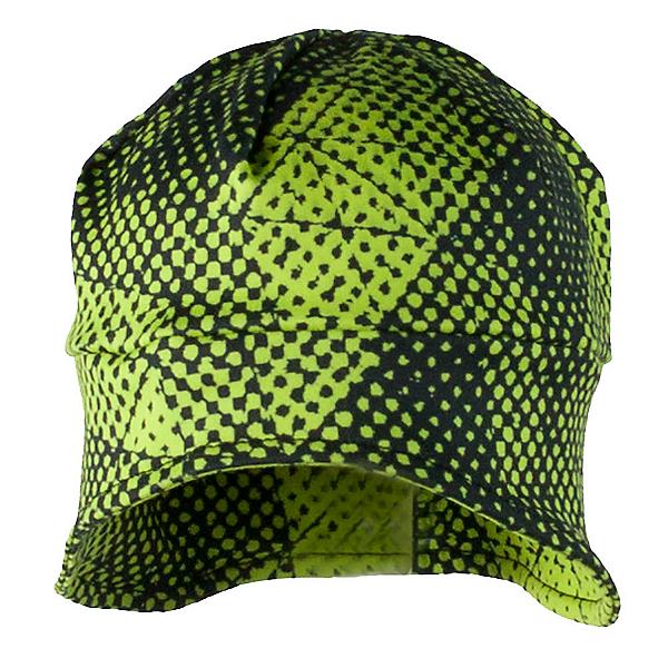 Obermeyer Jib Teen Skull Cap, Green Mesh Print, 600
