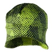 Obermeyer Teen Jib Skull Cap, Green Mesh Prin, medium