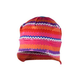 Obermeyer Teen Girls Jib Skull Cap, Scribble Stripe, 256