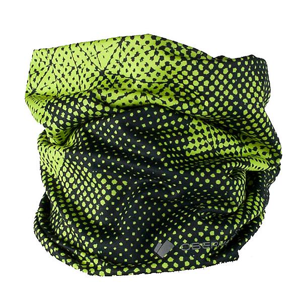 Obermeyer Bumps Sport 75WT Teen Neck Warmer, Green Mesh Prin, 600