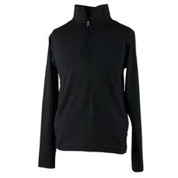 Obermeyer Wildcat Sport 75WT Teen Boys Long Underwear Top, Black, 256