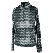 Obermeyer Wildcat Sport 75WT Teen Boys Long Underwear Top, Grey Coat Of Arms, medium