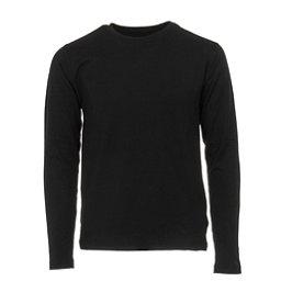 Obermeyer Trestle Sport 75WT Crew Teen Boys Long Underwear Top, Black, 256