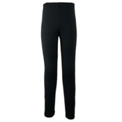 Obermeyer Bearclaw Sport 75WT Tight Kids Long Underwear Bottom, Black, medium