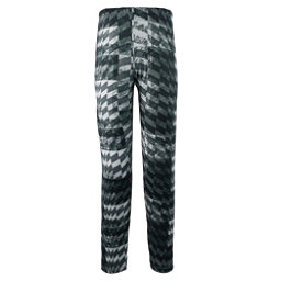 Obermeyer Bearclaw Sport 75WT Tight Teen Boys Long Underwear Bottom, Grey Coat Of Arms, 256