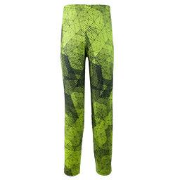 Obermeyer Bearclaw Sport 75WT Tight Teen Boys Long Underwear Bottom, Green Mesh Print, 256