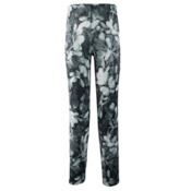 Obermeyer Bearclaw Sport 75 WT Tight Teen Girls Long Underwear Bottom, Blackout Floral, medium