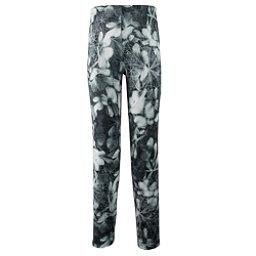 Obermeyer Bearclaw Sport 75 WT Tight Teen Girls Long Underwear Bottom, Blackout Floral, 256
