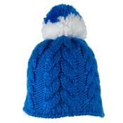 Obermeyer Livy Knit Teen Girls Hat, Stellar Blue, medium