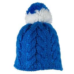 Obermeyer Livy Knit Teen Girls Hat, Stellar Blue, 256