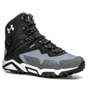 Under Armour Tabor Ridge Mid Hiking Boots, Graphite-Black-Aluminum, medium