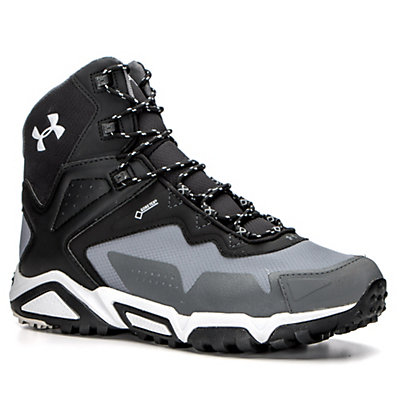 Under Armour Tabor Ridge Mid Hiking Boots, Graphite-Black-Aluminum, viewer