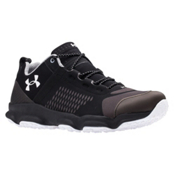 Under Armour SpeedFit Hike Low Mens Shoes, Black-Charcoal-White, medium