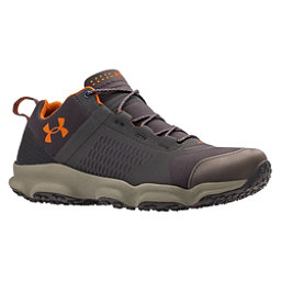Under Armour SpeedFit Hike Low Mens Shoes, Charcoal-Dune-Texas Orange, 256
