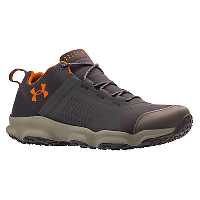 Under Armour SpeedFit Hike Low Mens Shoes, Charcoal-Dune-Texas Orange, viewer