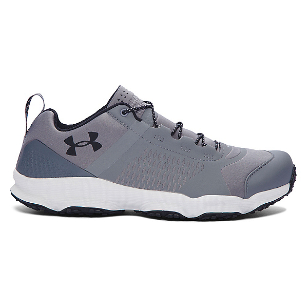 Under Armour SpeedFit Hike Low Mens Shoes, Graphite-Aluminum-Black, 600