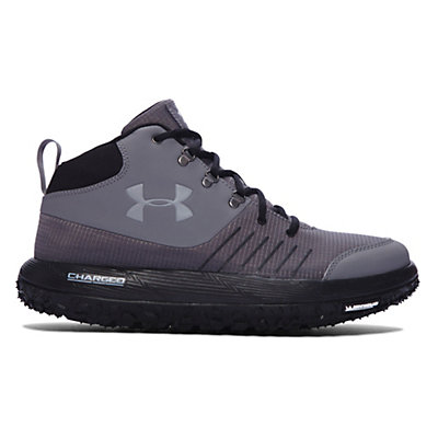 Under Armour Overdrive Fat Tire Hiking Boots, Graphite-Black-Aluminum, viewer