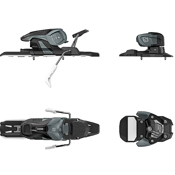 Salomon Warden 11 Ski Bindings 2018, Dark Grey-Black, 600