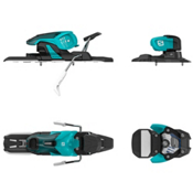 Salomon Warden 11 Ski Bindings 2017, Turquoise-Black, medium