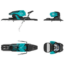 Salomon Warden 11 Ski Bindings 2017, Turquoise-Black, 256