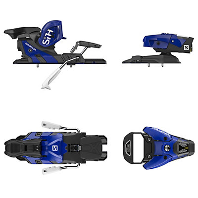 Salomon STH2 WTR 16 Ski Bindings 2017, Blue-Black, viewer