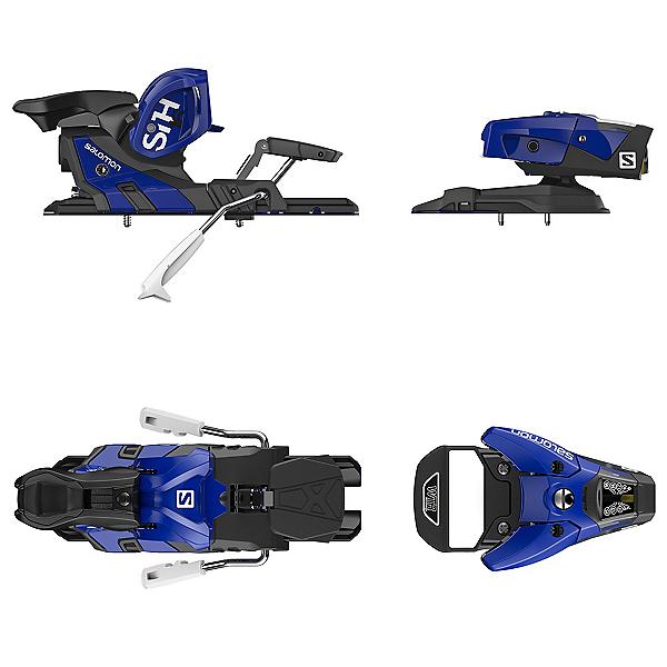 Salomon STH2 WTR 16 Ski Bindings 2017, Blue-Black, 600
