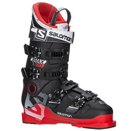 Salomon X-Max 100 Ski Boots, Red-Black, 256
