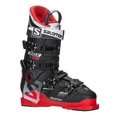 Salomon X-Max 100 Ski Boots 2017, Red-Black, viewer