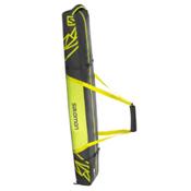 Salomon 2 Pair+ 20 Expandable Ski Bag 2017, Asphalt-Yuzu Yellow, medium