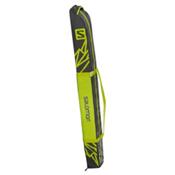 Salomon 1 Pair+20 Expandable Ski Bag 2017, Asphalt-Yuzu Yellow, medium