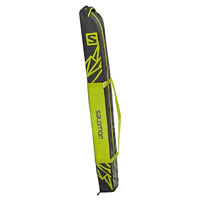 Salomon 1 Pair+20 Expandable Ski Bag 2017, Asphalt-Yuzu Yellow, viewer