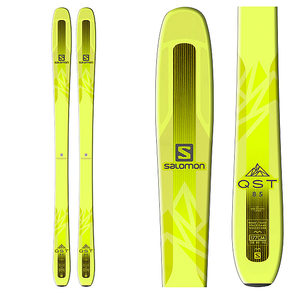 Salomon QST 85 Skis 2018, , 600