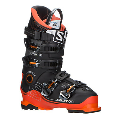 Salomon X-Pro 130 Ski Boots 2017, Black-Orange-Anthracite, viewer