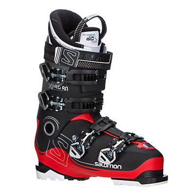 Salomon X-Pro 80 Ski Boots 2017, Black-Red-Anthracite, viewer