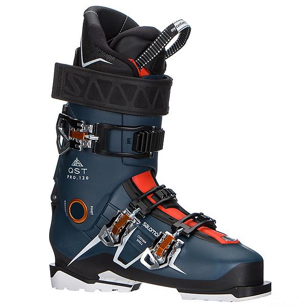 Salomon QST Pro 120 Ski Boots 2017, Petrol Blue-Black-Orange, 600