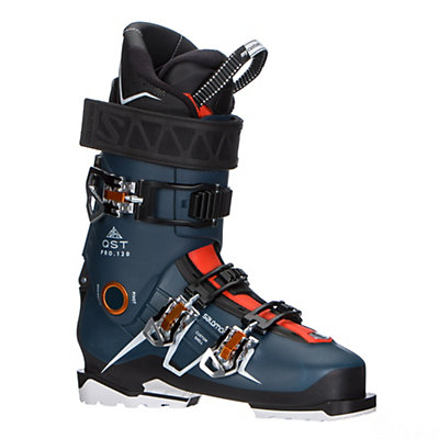 Salomon QST Pro 120 Ski Boots 2017, Petrol Blue-Black-Orange, viewer