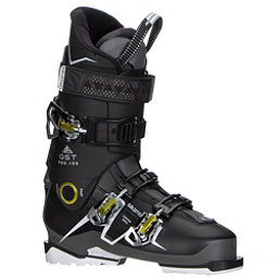 Salomon QST Pro 100 Ski Boots 2018, Black-Anthracite-Acide Green, 256