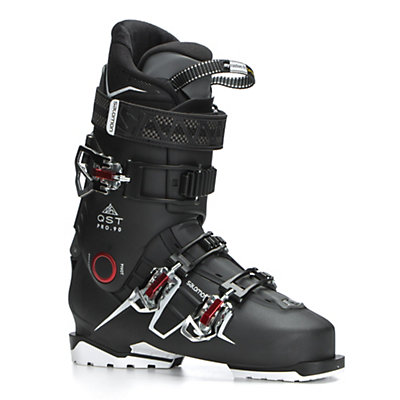 Salomon QST Pro 90 Ski Boots 2017, Black-Anthracite-Red, viewer