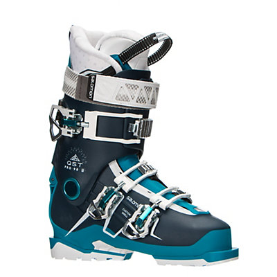 Salomon QST Pro 90 W Womens Ski Boots 2017, Petrol Blue-Blue-Aqua, viewer