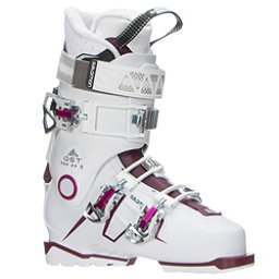 Salomon QST Pro 80 W Womens Ski Boots 2018, White-Burgandy-Pink, 256