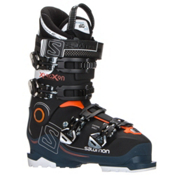 Salomon X-Pro X90 CS Ski Boots 2017, Black-Petrol Blue-White, medium