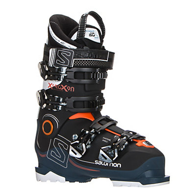 Salomon X-Pro X90 CS Ski Boots 2017, Black-Petrol Blue-White, viewer
