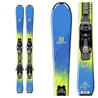 Salomon QST Max Jr. Kids Skis with EZY 5 Bindings 2017, , viewer