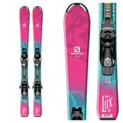 Salomon QST Lux Jr. S Kids Skis with EZY 5 Bindings 2017, , medium