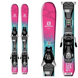 Salomon QST Lux Jr. Kids Skis with EZY 5 Bindings 2017, , 256