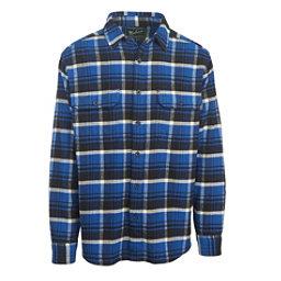 Woolrich Oxbow Bend Flannel Flannel Shirt, Dark Cobalt, 256