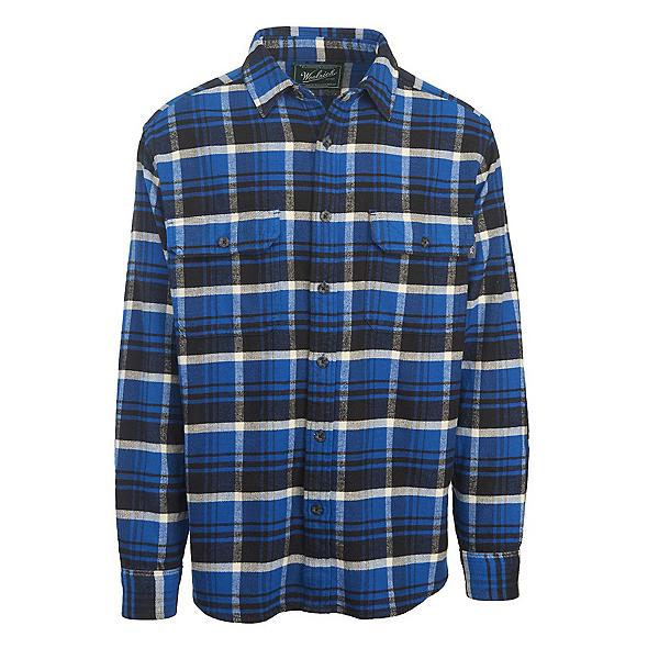 Woolrich Oxbow Bend Flannel Mens Shirt, Dark Cobalt, 600