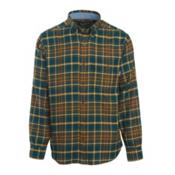 Woolrich Trout Run Flannel Mens Shirt, Abyss, medium